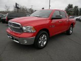 2014 Flame Red Ram 1500 Big Horn Crew Cab 4x4 #103050472