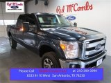 2015 Blue Jeans Ford F250 Super Duty Lariat Crew Cab 4x4 #103082728