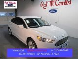 2015 Oxford White Ford Fusion SE #103082727