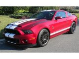 2014 Ruby Red Ford Mustang Shelby GT500 SVT Performance Package Coupe #103082529