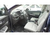 2015 Honda CR-V EX-L AWD Gray Interior