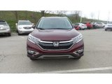2015 Basque Red Pearl II Honda CR-V EX-L #103082799