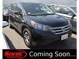 2012 Crystal Black Pearl Honda CR-V LX #103082878