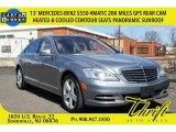 2013 Andorite Grey Metallic Mercedes-Benz S 550 4Matic Sedan #103082493
