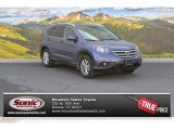 2012 Twilight Blue Metallic Honda CR-V EX-L 4WD #103082565