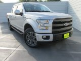2015 Ingot Silver Metallic Ford F150 Lariat SuperCrew 4x4 #103082854