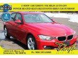 2013 Melbourne Red Metallic BMW 3 Series 328i xDrive Sedan #103082310