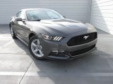 2015 Ford Mustang EcoBoost Coupe Front 3/4 View