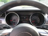 2015 Ford Mustang EcoBoost Coupe Gauges