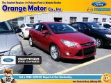2012 Red Candy Metallic Ford Focus SEL 5-Door #103082837