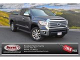 2015 Magnetic Gray Metallic Toyota Tundra Limited Double Cab 4x4 #103143299