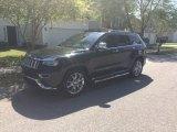 2014 Brilliant Black Crystal Pearl Jeep Grand Cherokee Summit #103143848