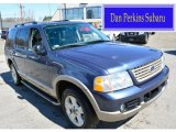 2003 Medium Wedgewood Blue Metallic Ford Explorer Eddie Bauer 4x4 #103143257