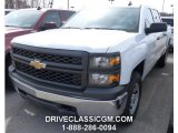Summit White Chevrolet Silverado 1500 in 2015