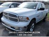 2015 Bright White Ram 1500 Big Horn Crew Cab 4x4 #103143746
