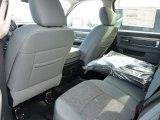 2015 Ram 1500 Big Horn Crew Cab 4x4 Rear Seat