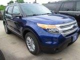 2015 Ford Explorer Deep Impact Blue