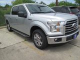 2015 Ingot Silver Metallic Ford F150 XLT SuperCrew #103143397