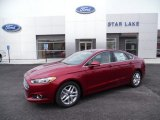 2015 Ruby Red Metallic Ford Fusion SE #103143803