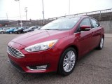 2015 Ford Focus Ruby Red Metallic