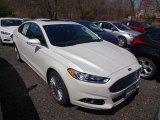 2015 White Platinum Metallic Ford Fusion Titanium #103186196