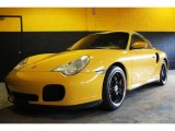 2001 Porsche 911 Speed Yellow