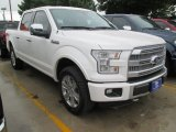 2015 White Platinum Tricoat Ford F150 Platinum SuperCrew 4x4 #103185470