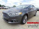 2013 Sterling Gray Metallic Ford Fusion Titanium #103186047