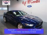 2015 Deep Impact Blue Metallic Ford Mustang GT Premium Coupe #103185464