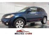 2007 Midnight Blue Pearl Nissan Murano SL AWD #103185896