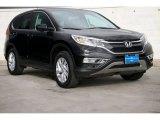 2015 Crystal Black Pearl Honda CR-V EX #103234104