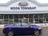 2013 Deep Impact Blue Metallic Ford Fusion Titanium AWD #103241018