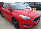 2015 Race Red Ford Focus SE Sedan #103240928