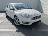 2015 Ford Focus White Platinum