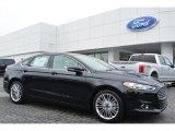 2015 Tuxedo Black Metallic Ford Fusion SE #103240987