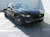 2015 Black Ford Mustang EcoBoost Premium Coupe #103241104