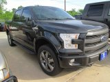 2015 Tuxedo Black Metallic Ford F150 Lariat SuperCrew 4x4 #103279238
