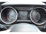 2015 Ford Mustang V6 Coupe Gauges