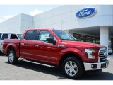 2015 Ruby Red Metallic Ford F150 XLT SuperCrew #103279410