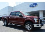 2015 Bronze Fire Metallic Ford F150 XLT SuperCrew 4x4 #103279409