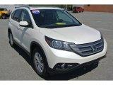 2012 White Diamond Pearl Honda CR-V EX-L #103279652