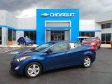2013 Windy Sea Blue Hyundai Elantra GLS #103279445