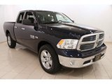 2014 True Blue Pearl Coat Ram 1500 SLT Quad Cab 4x4 #103279644