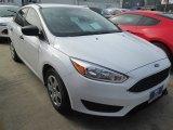 2015 Oxford White Ford Focus S Sedan #103279252