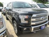 2015 Tuxedo Black Metallic Ford F150 Platinum SuperCrew 4x4 #103279247