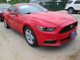 2015 Race Red Ford Mustang V6 Coupe #103279241