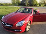 2014 Mars Red Mercedes-Benz SLK 250 Roadster #103323764