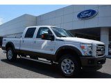 2015 Oxford White Ford F250 Super Duty King Ranch Crew Cab 4x4 #103323463
