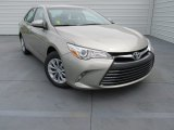 2015 Creme Brulee Mica Toyota Camry LE #103323539