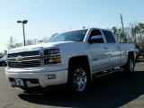 2015 White Diamond Tricoat Chevrolet Silverado 1500 High Country Crew Cab 4x4 #103323223